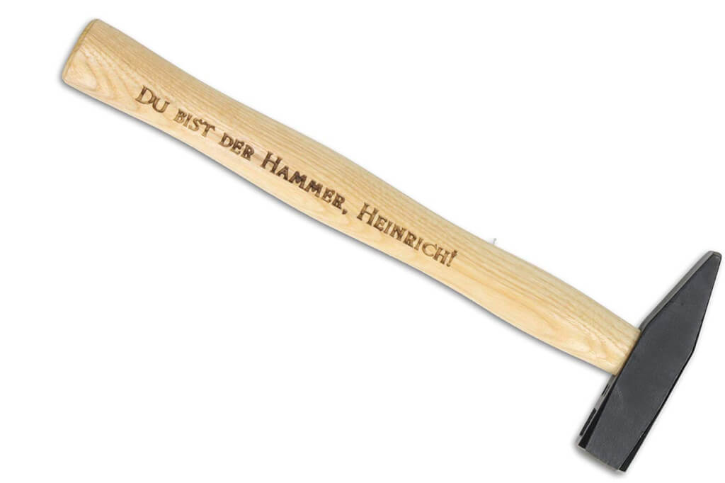 Personalisierter Hammer - Hammer Geschenk 2