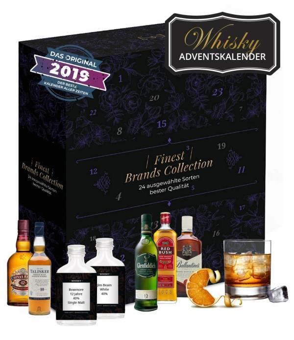 13 Whisky Adventskalender für den Mann - Adventskalender mit Whisky - Bester Adventskalender für den Mann
