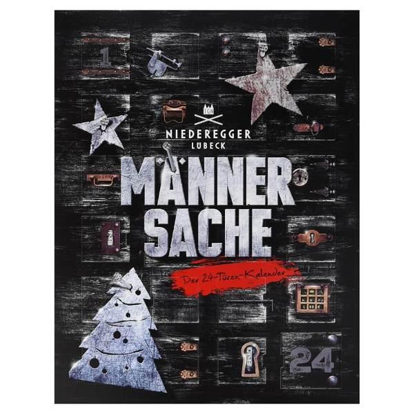 17 Niederegger Adventskalender - Adventskalender für den Mann - Männersache Kalender - Adventskalender für echte Männer