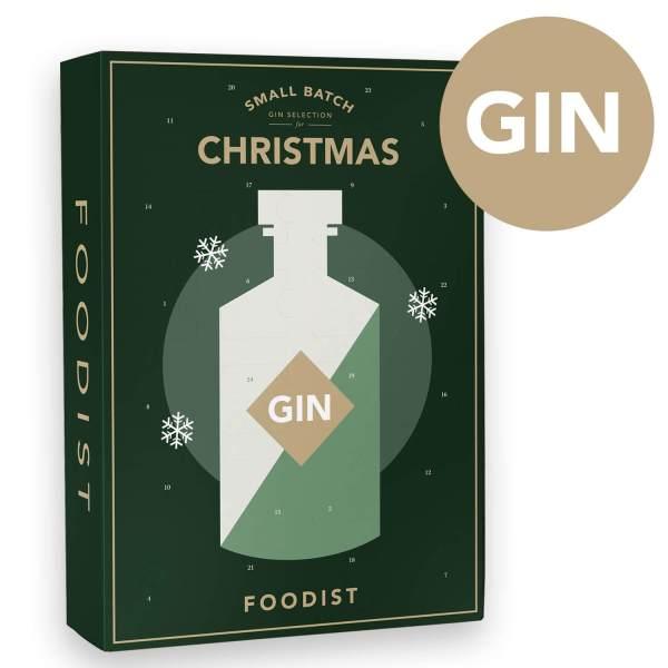 30 Gin Tasting Adventskalender für den Mann - Gin aus aller Welt als Adventskalender - Adventskalender ohne Schokolade