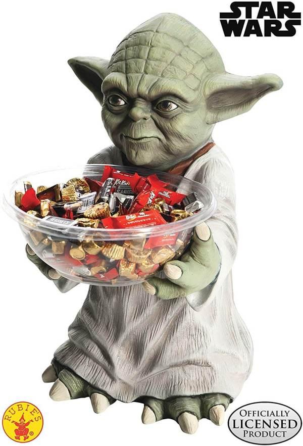 Yoda Süßigkeitenschale - Süßigkeitenschalenhalter - Star Wars Candy Holder Bowl
