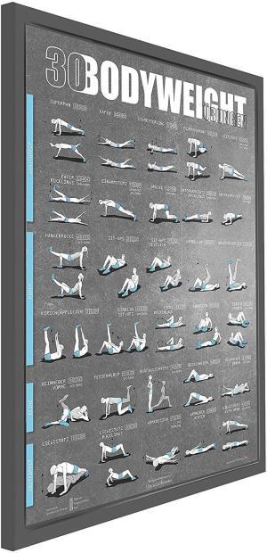 30 Workouts für zu Hause - Sport ohne Geräte für zu Hause - Gute Vorsätze durchsetzen - Sport ohne Fitnesscenter
