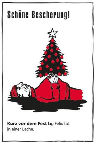 Black Stories Christmas Edition 50 düstere Rätsel Geschenkidee für den Weihnachtsabend 2
