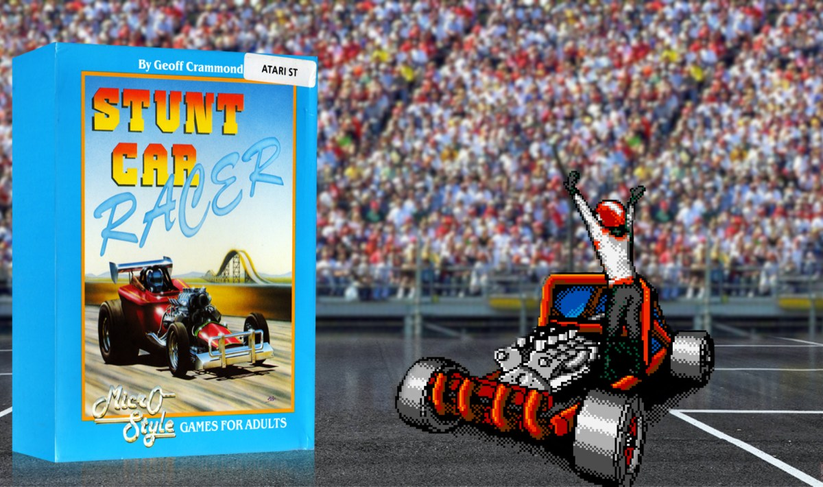 """Stunt Car Racer"" from Micro Style"