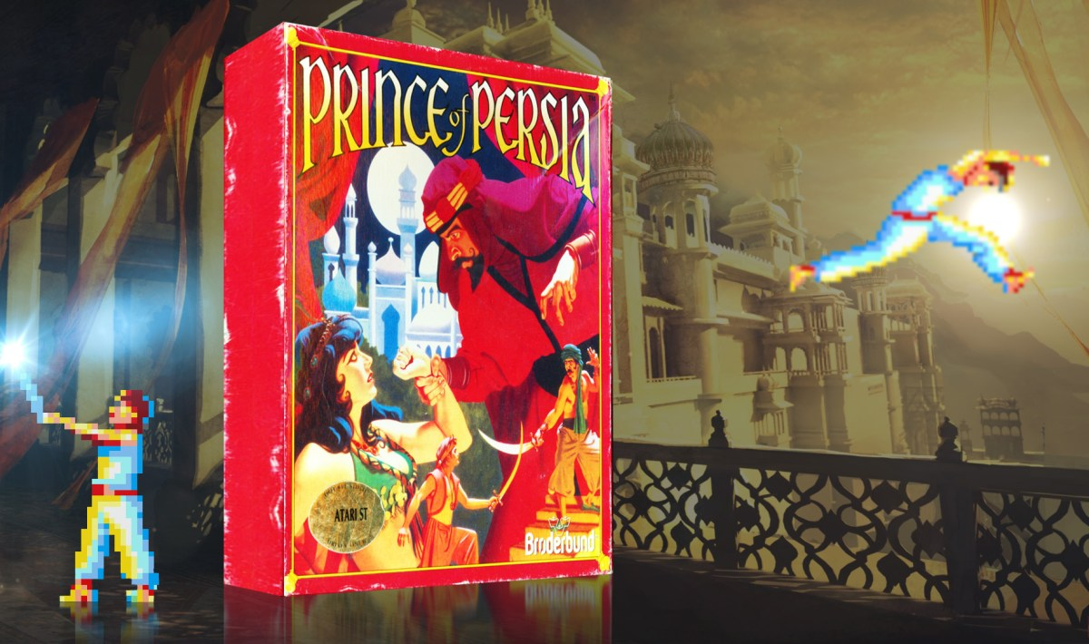 """Prince of Persia"" from Brøderbund Software"