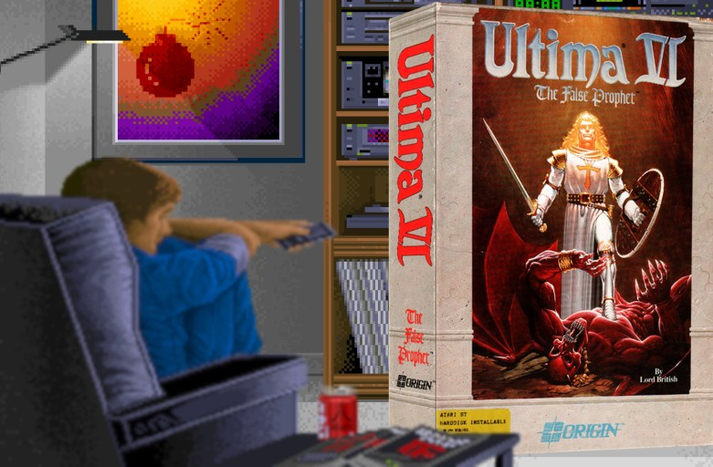 """Ultima VI"" from Origin"