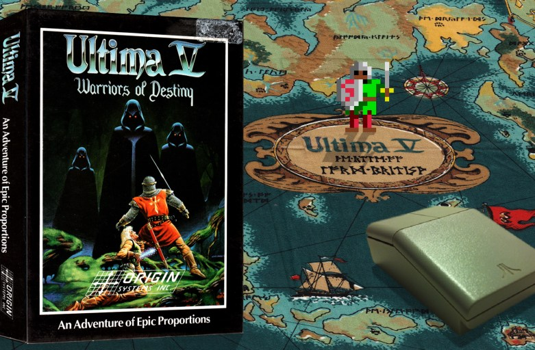 """Ultima V"" from Origin"
