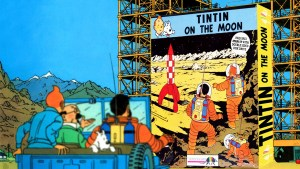 """Tintin on the Moon"" from Infogrames"