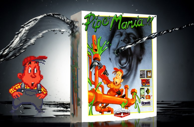 """Pipe Mania"" from Empire Software"