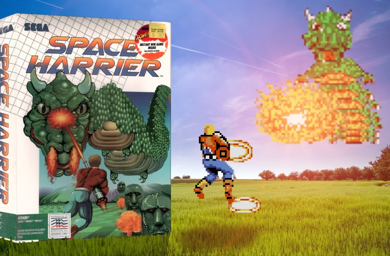"""Space Harrier"" from Sega"