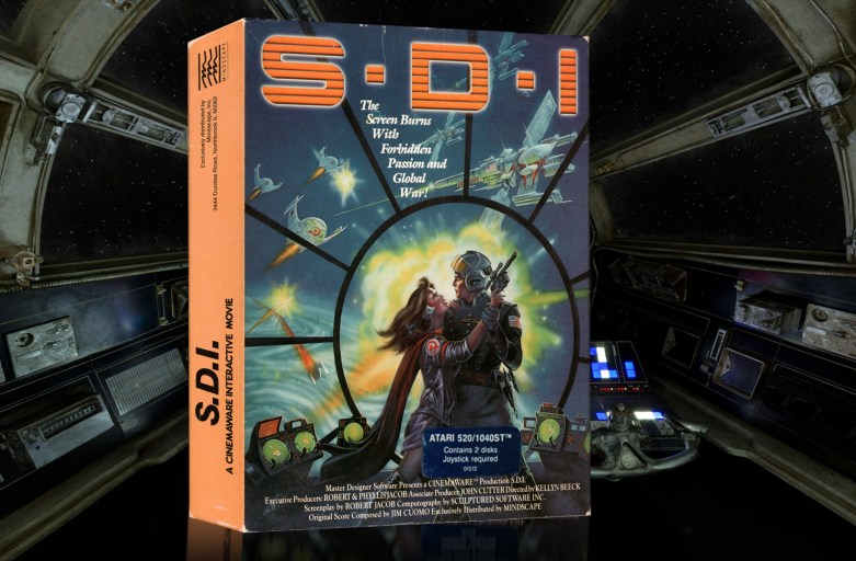 """S.D.I. (Strategic Defense Initiative)"" from Cinemaware"