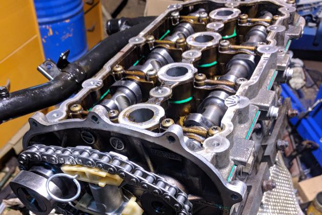 Helrenovering av motor