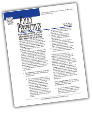Policy Perspectives