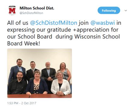 Milton School Board