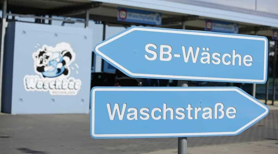 Willkommen in der Waschstraße