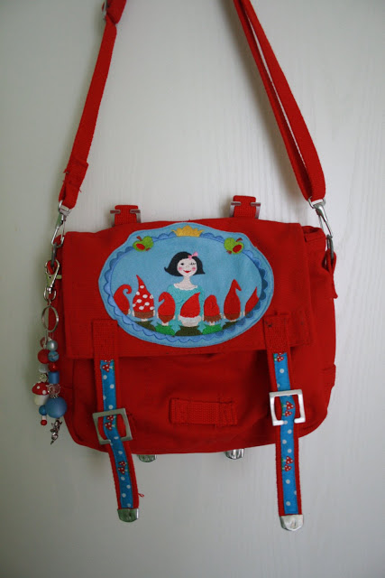 Canvas+Tasche+rot+mit+Frl+S+Witt