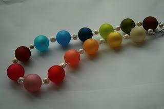 DIY Halskette | Regenbogen Perlen | waseigenes.com