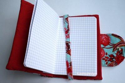 Gedankengut - Stoffhülle für mein Notizbuch | Gedankengutmäntelchen | waseigenes.com