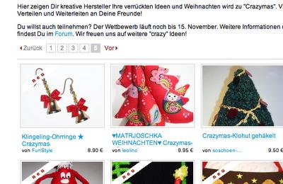 crazymas Dawanda   Matrjoschka Weihnachtsbaum   waseigenes.com