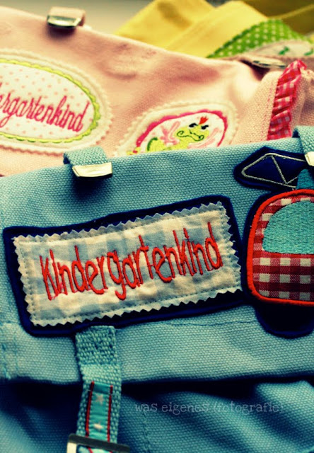 DIY Kindergartentaschen | waseigenes.com