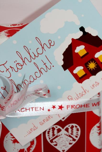 Glückliche Weihnacht | Weihnachtskarten von waseigenes.com