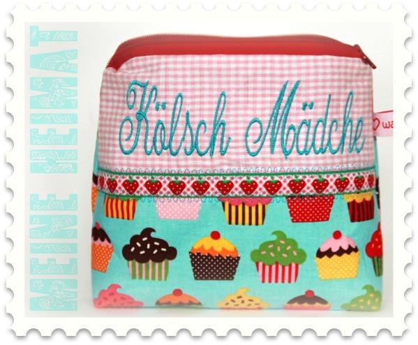 Schminktäschchen: Kölsch Mädche | was eigenes Shop & Blog