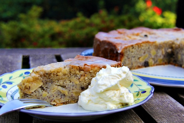 Apfelfest am Niederrhein | Herbstmarkt | Buttermilch Apfel Mohn Kuchen | was eigenes Blog
