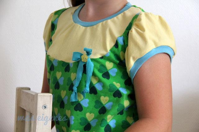 Schnittmuster Lina Shirt   Klee Jersey Hamburger Liebe   waseigenes.com