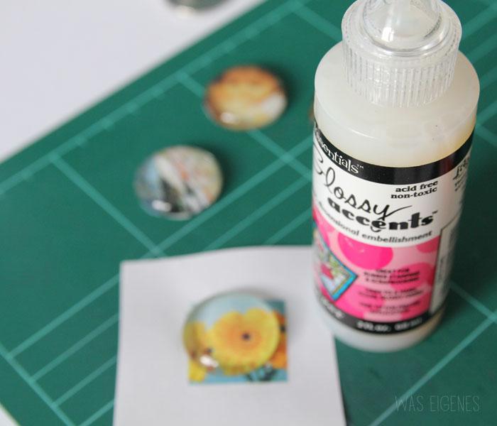 DIY Fotoring mit Cabochon | Selbermachen | was eigenes DIY Blog