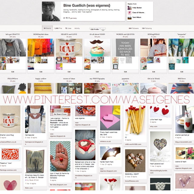Social media Kanäle | Pinterest | was eigenes bei Pinterest | waseigenes.com DIY Blog