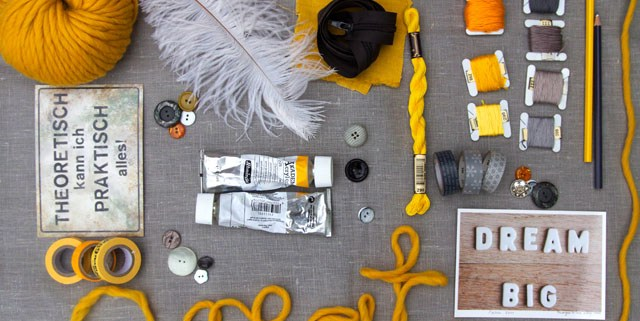 Moodboard | Blogging your way | yellow & grey | create | waseigenes.com