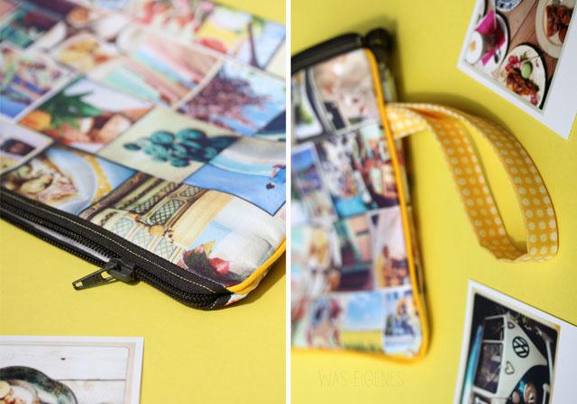 Fotografie- und Nähliebe | DIY Instagram Clutch | drucken & nähen | print & sew | waseigenes.com