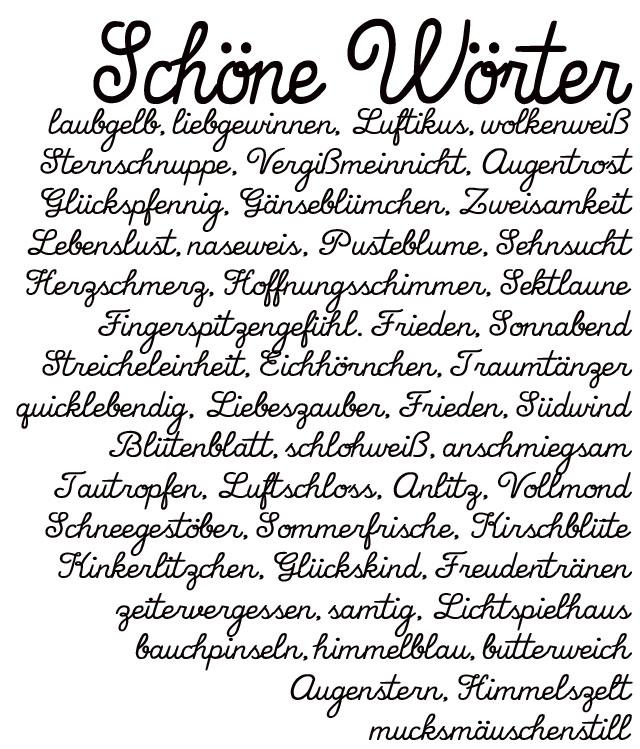Schoene Woerter   schoene deutsche Worte   Wohklingende Woerter   waseigenes.com 1