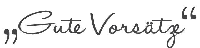 Gute Vorsätze | Short Stories | waseigenes.com