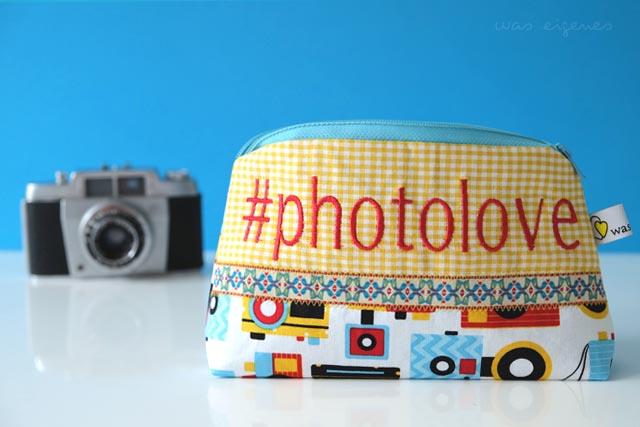 DIY Hashtag Schminktäschchen | #photolove | waseigenes.com DIY Blog