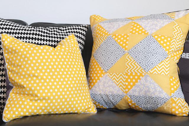 ich habe ein neues patchwork kissen und ich habe alle. Black Bedroom Furniture Sets. Home Design Ideas