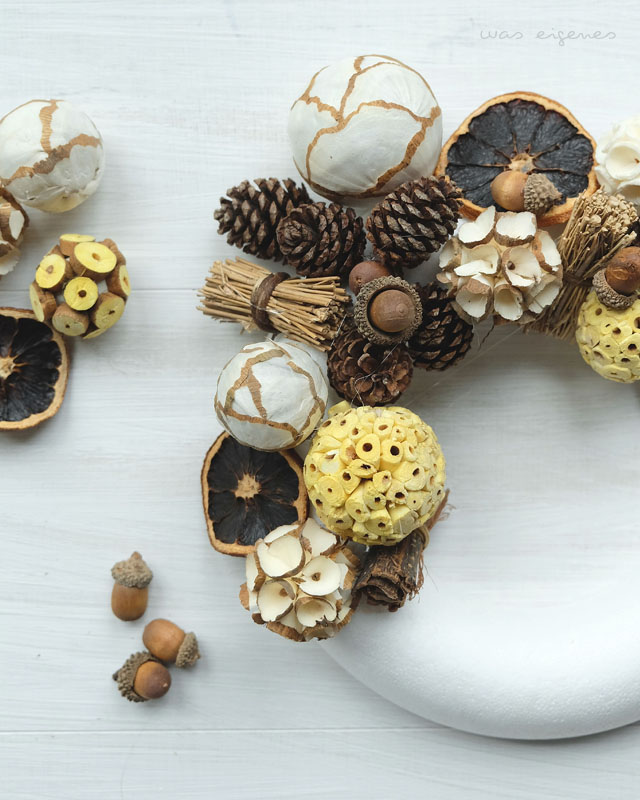 DIY Herbstkranz | DIY autumn wreath | was eigenes Blog