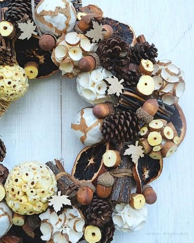 DIY Herbstkranz | craft project for fall | was eigenes Blog