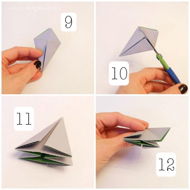 Origami Diamant Faltanleitung | waseigenes.com DIY Blog & Shop