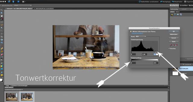 Wie ich meine Fotos mit Photoshop Elements bearbeite   Fotobearbeitung   Tutorial   waseigenes.com
