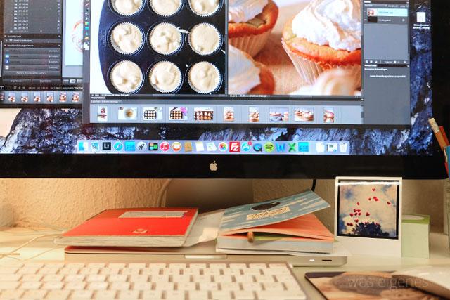 12v12 Mai 2015 / was eigenes Blog / Photoshop Rhabarber Cupcakes