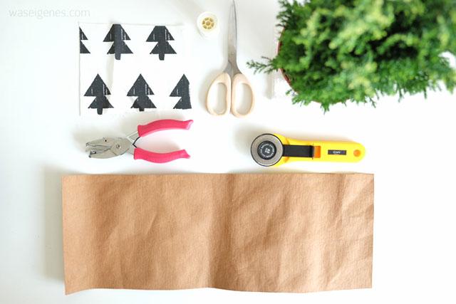 DIY weihnachtliche Übertöpfe aus SnapPap selber nähen | waseigenes.com DIY Blog