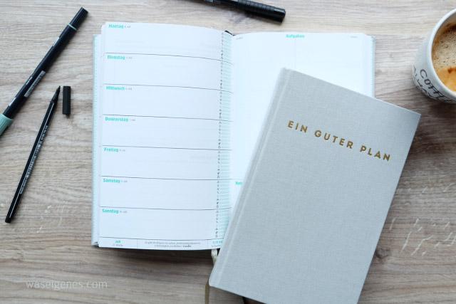 Ein guter Plan | Terminkalender | Giveaway | waseigenes.com Blog