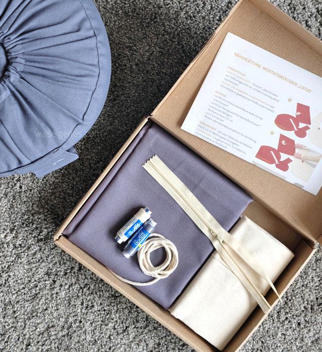 Lotuscraft Meditationskissen | Giveaway Naehset | waseigenes.com  2