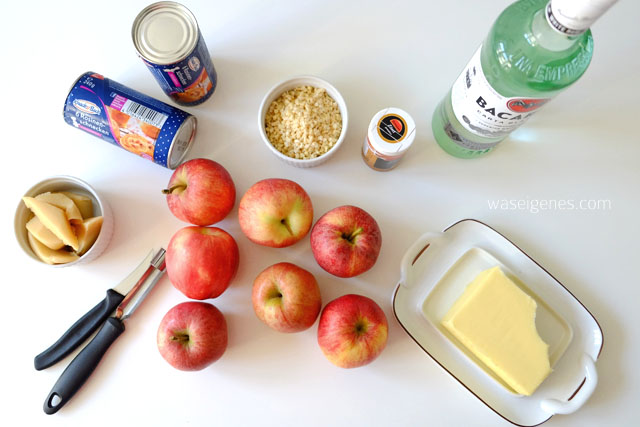 Rezept Bratapfelkuchen | Bratapfelschnecken | Anleitung | waseigenes.com
