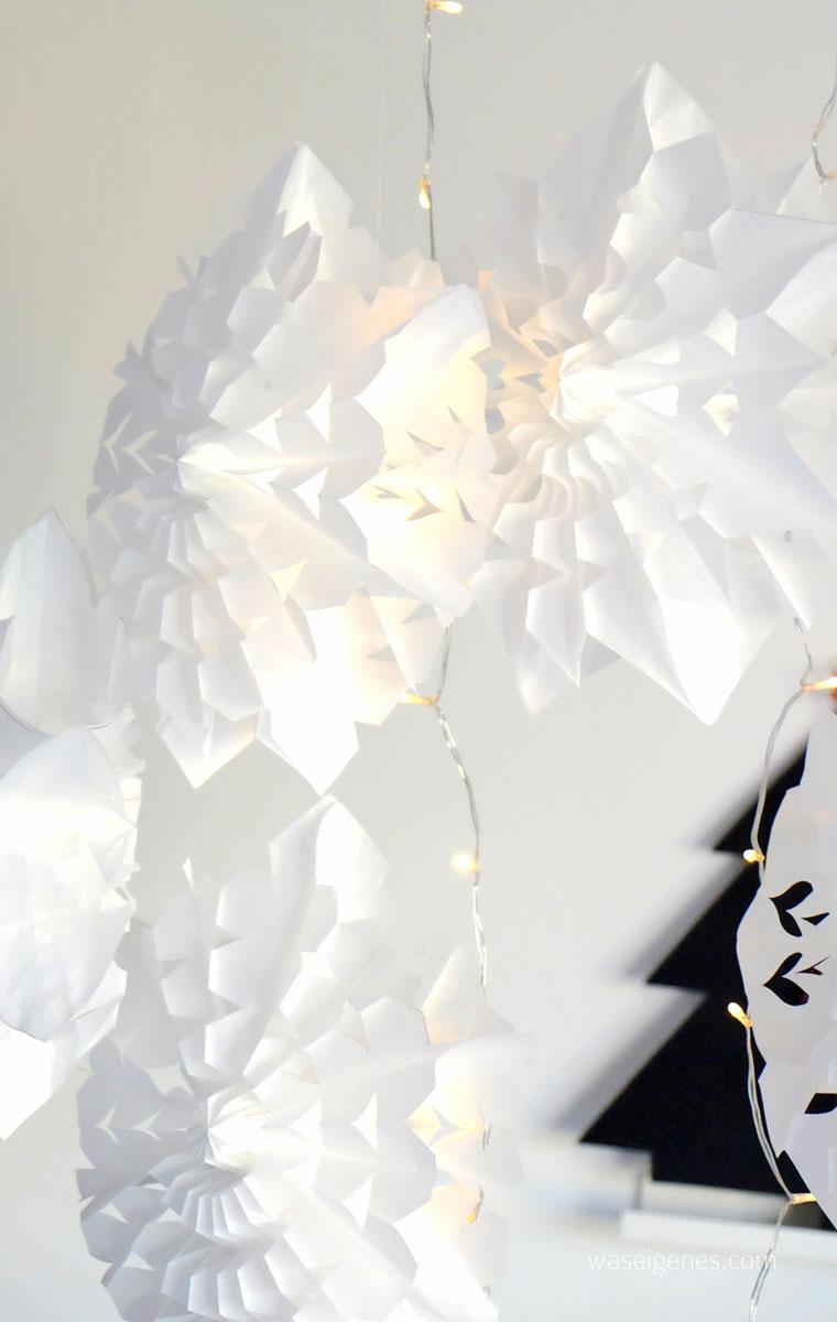 DIY Papiersterne aus Butterbrottüten {Frühstückstüten} basteln | waseigenes.com DIY Blog