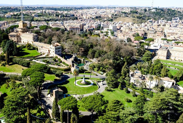 Rom: Der Petersdom in Rom | Blick von der Aussichtsplattform | waseigenes.com DIY Blog