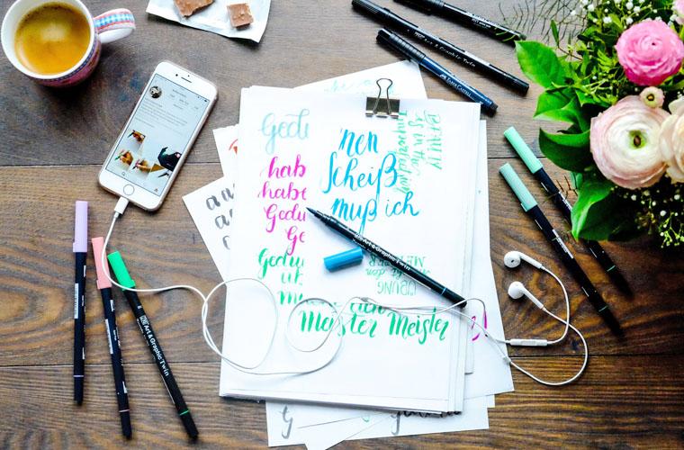 Handletterling | waseigenes.com