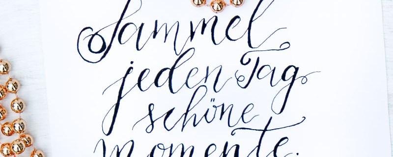 Adventskalender der guten Gedanken | Sammel jeden Tag schöne Momente | waseigenes.com