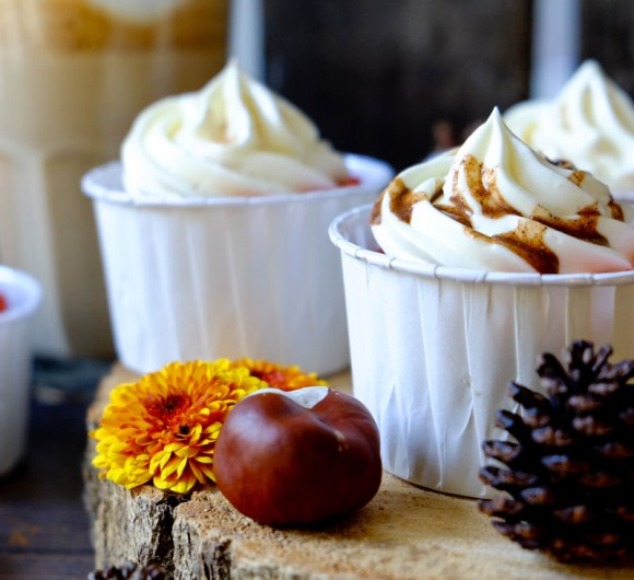 Rezept Pumpkin Spice Cupcakes | Kürbis Cupcakes | Pumpkin Spice selber machen | waseigenes.com DIY Blog